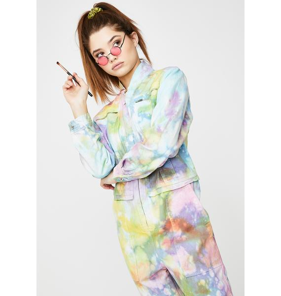 Kiki Riki Big Mood Tie Dye Jumpsuit