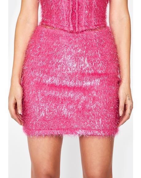Diva Dance All Night Fringe Skirt