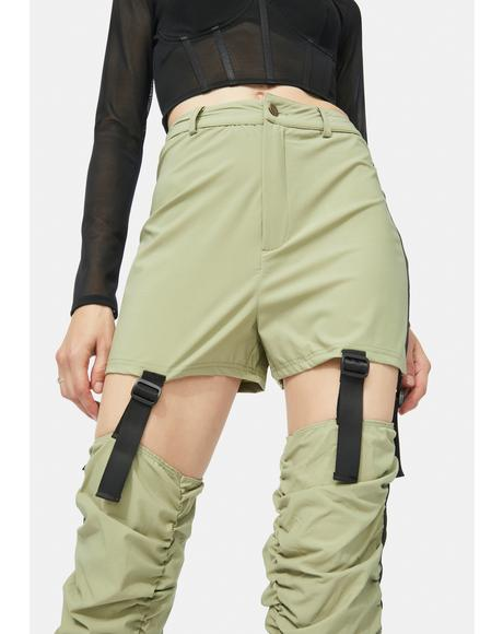 Not So Fast Cutout Pants