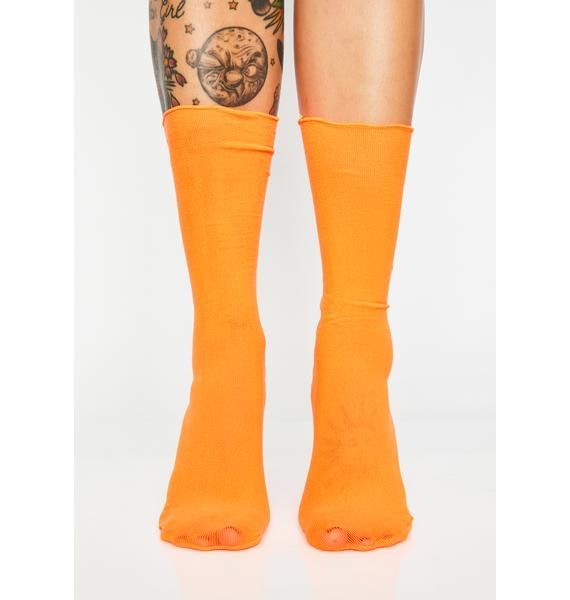 Sherbet Sweet Walk Crew Socks