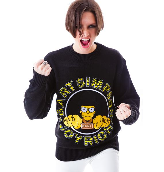 Joyrich Bad Boy Bart Knit Crew