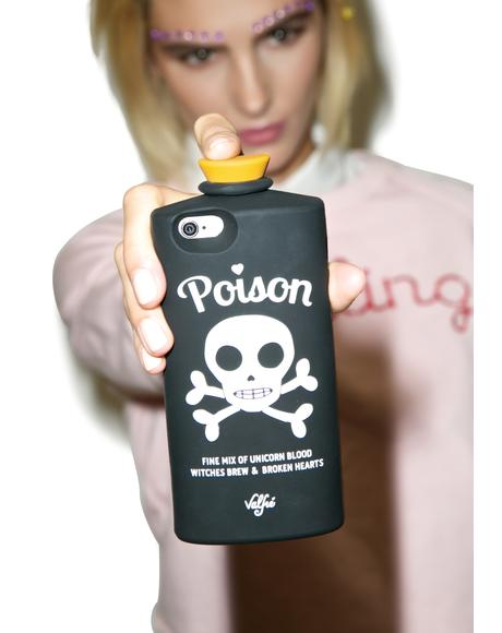 Black Poison 3D iPhone Case
