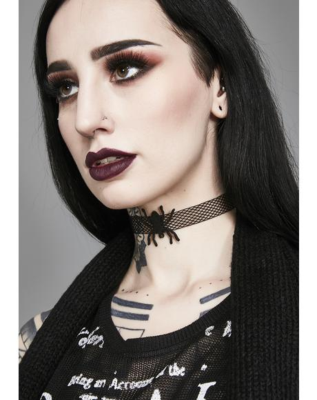 Tangled Web Spider Choker