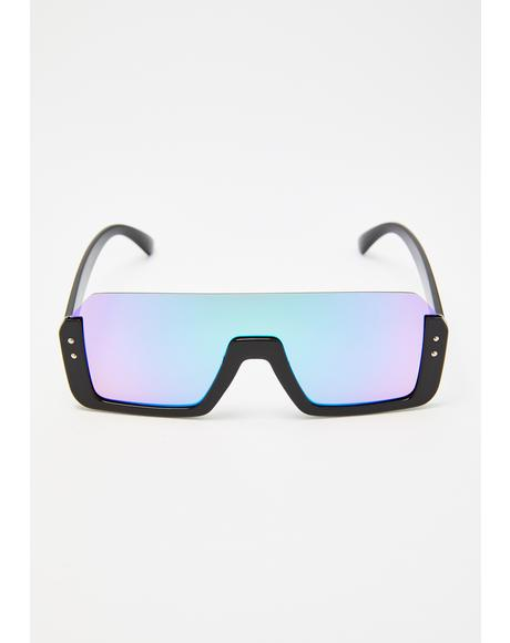 No Breeze Shield Sunglasses