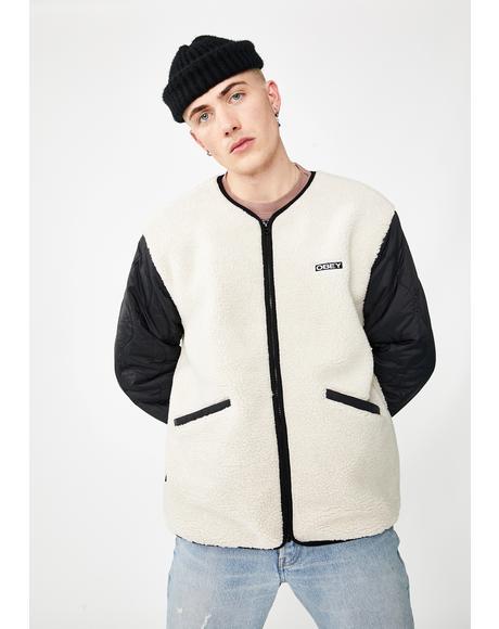 Oyster Sherpa Jacket