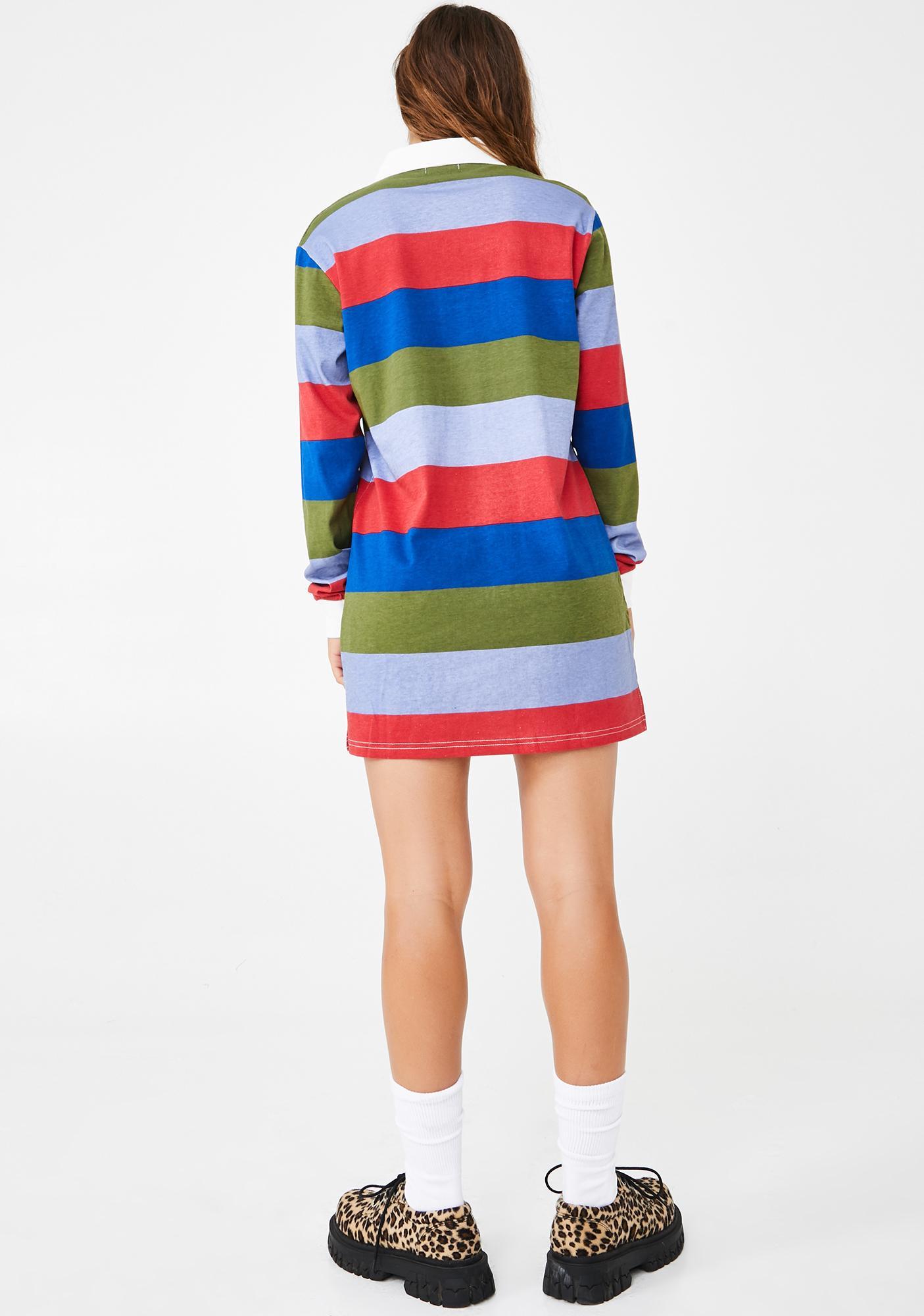 dELiA*s by Dolls Kill Lounge Hound Shirt Dress