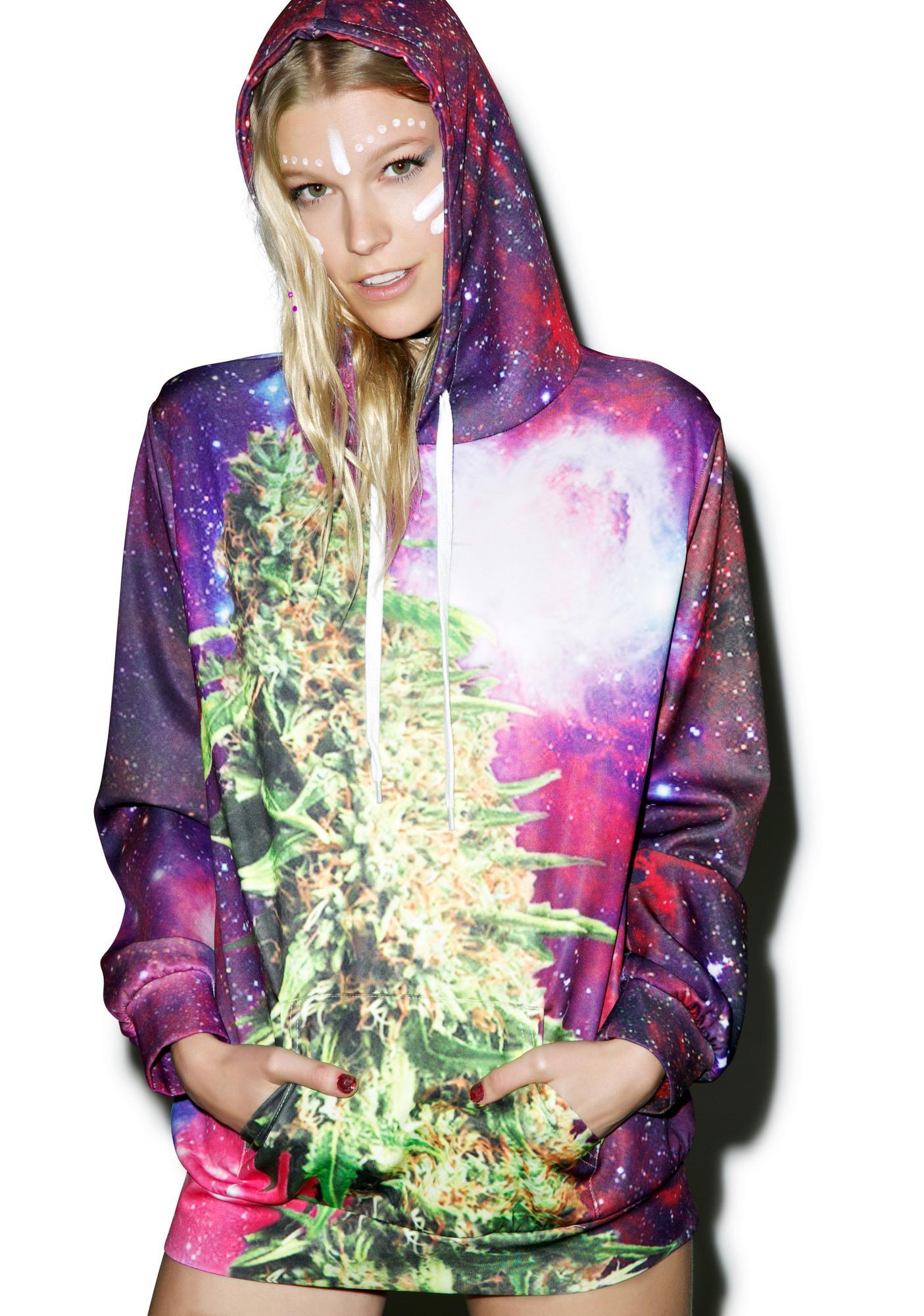 Space Ganja Hoodie