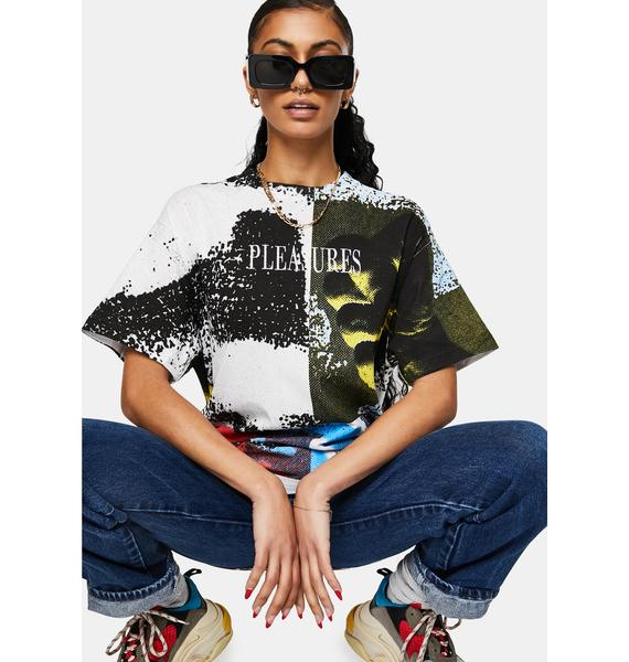 Pleasures Fisted Embroidered Graphic Tee