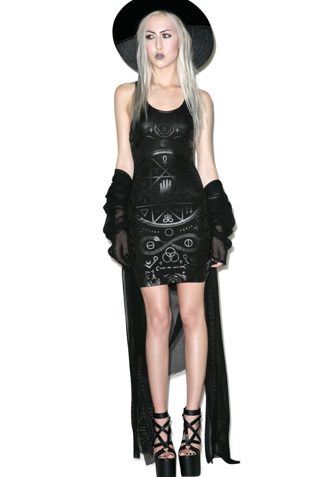 Killstar Cult Strap Dress