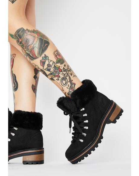Dare To Trek Ankle Boots