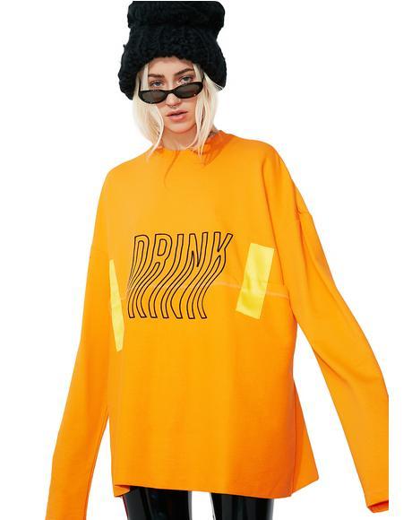 In & Out Light Sweatshirt