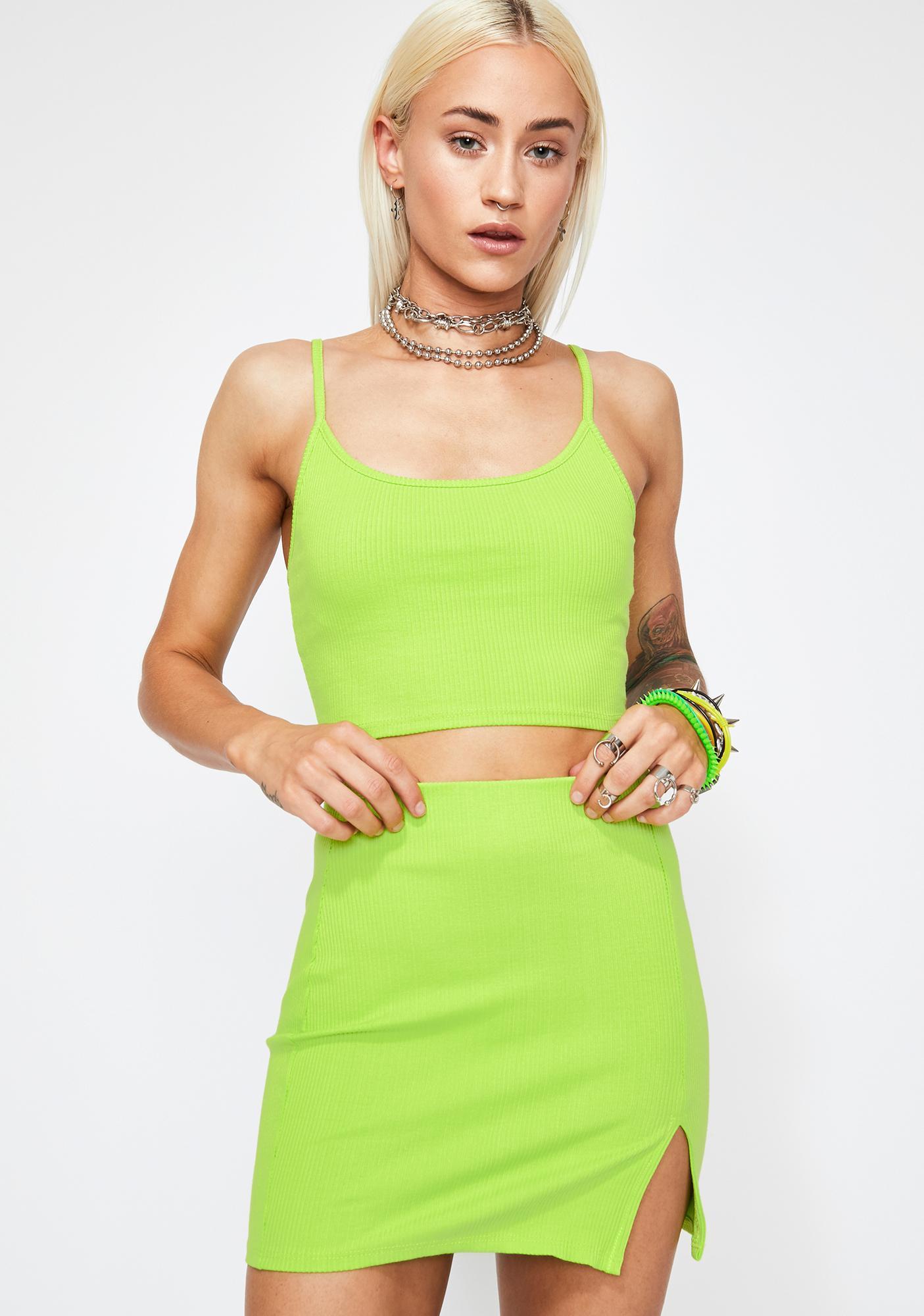 Sour Baesic BB Skirt Set