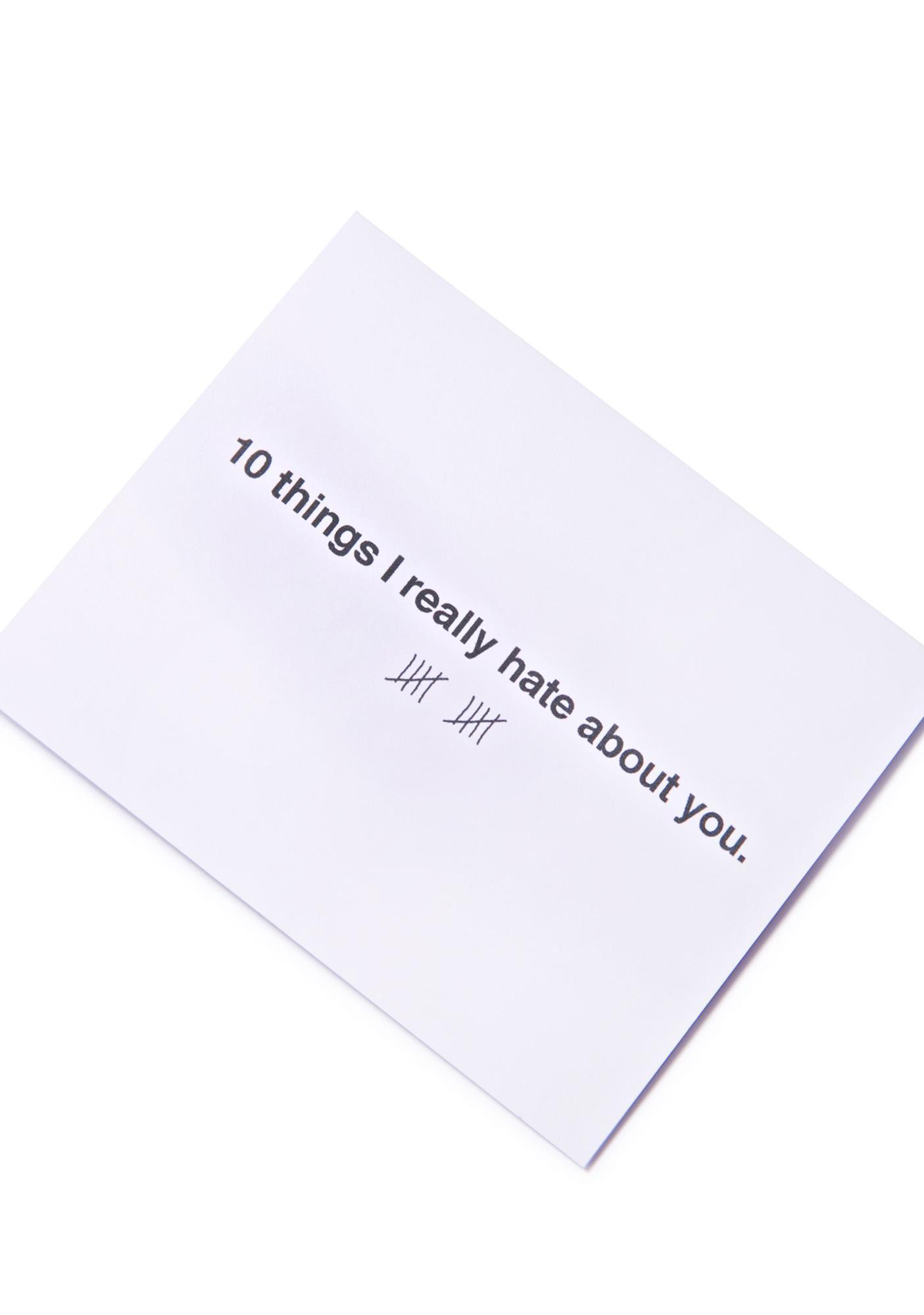 Snarky Babe Card