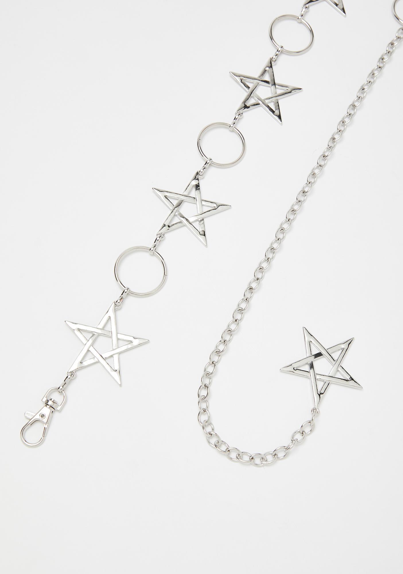 Night Sky Star Chain Belt