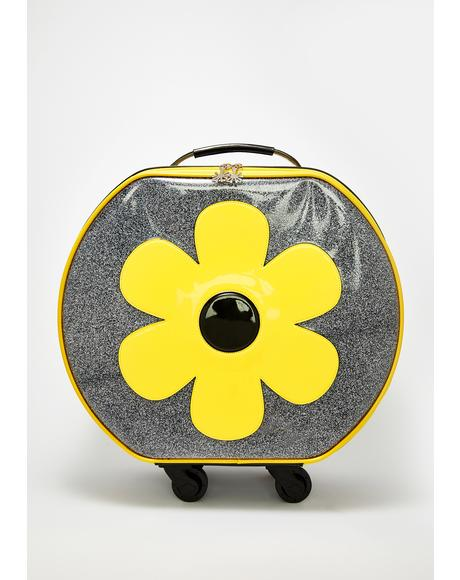 Wild Flower Roller Luggage