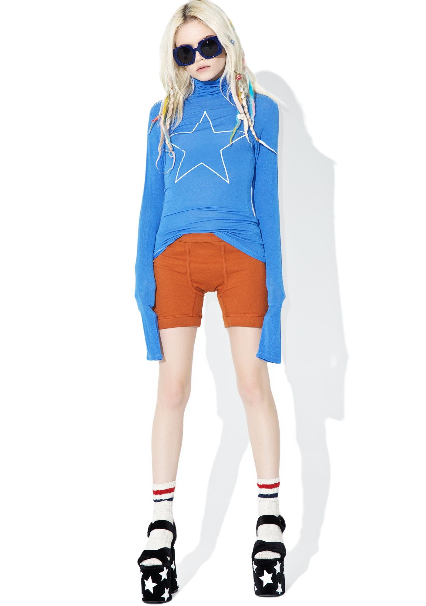 Daydream Nation Star Turtleneck Tee