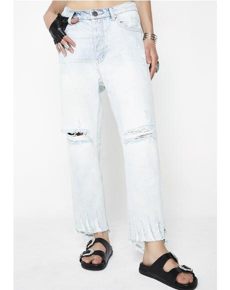 Brando Hooligans Low Waist Relaxed Jeans