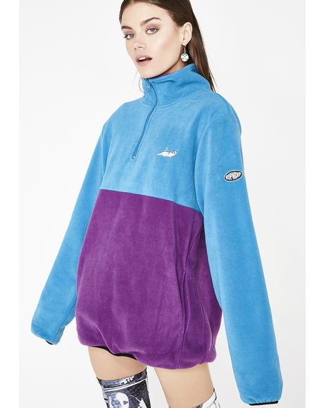 Berry Castanza 3/4 Zip Up Jacket