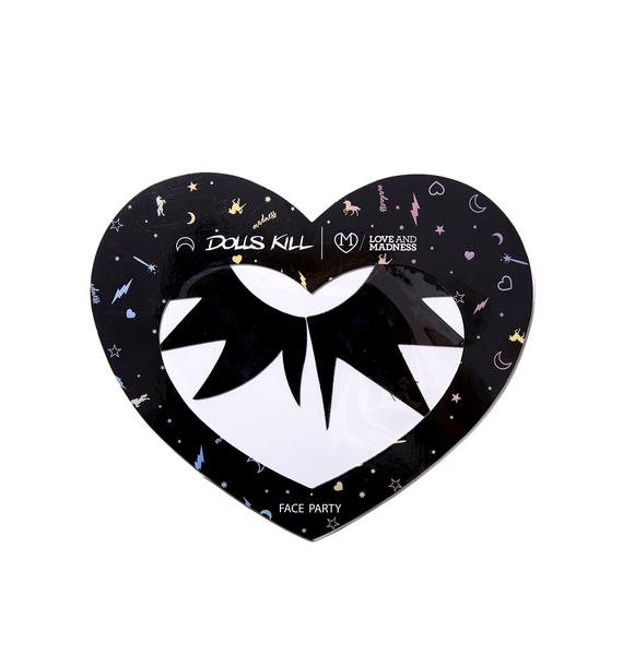 Love And Madness Patent Star Eye Decal
