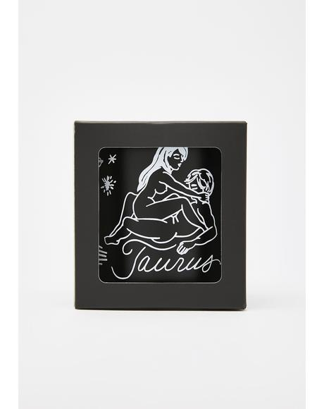 Taurus Zodiac Massage Candle