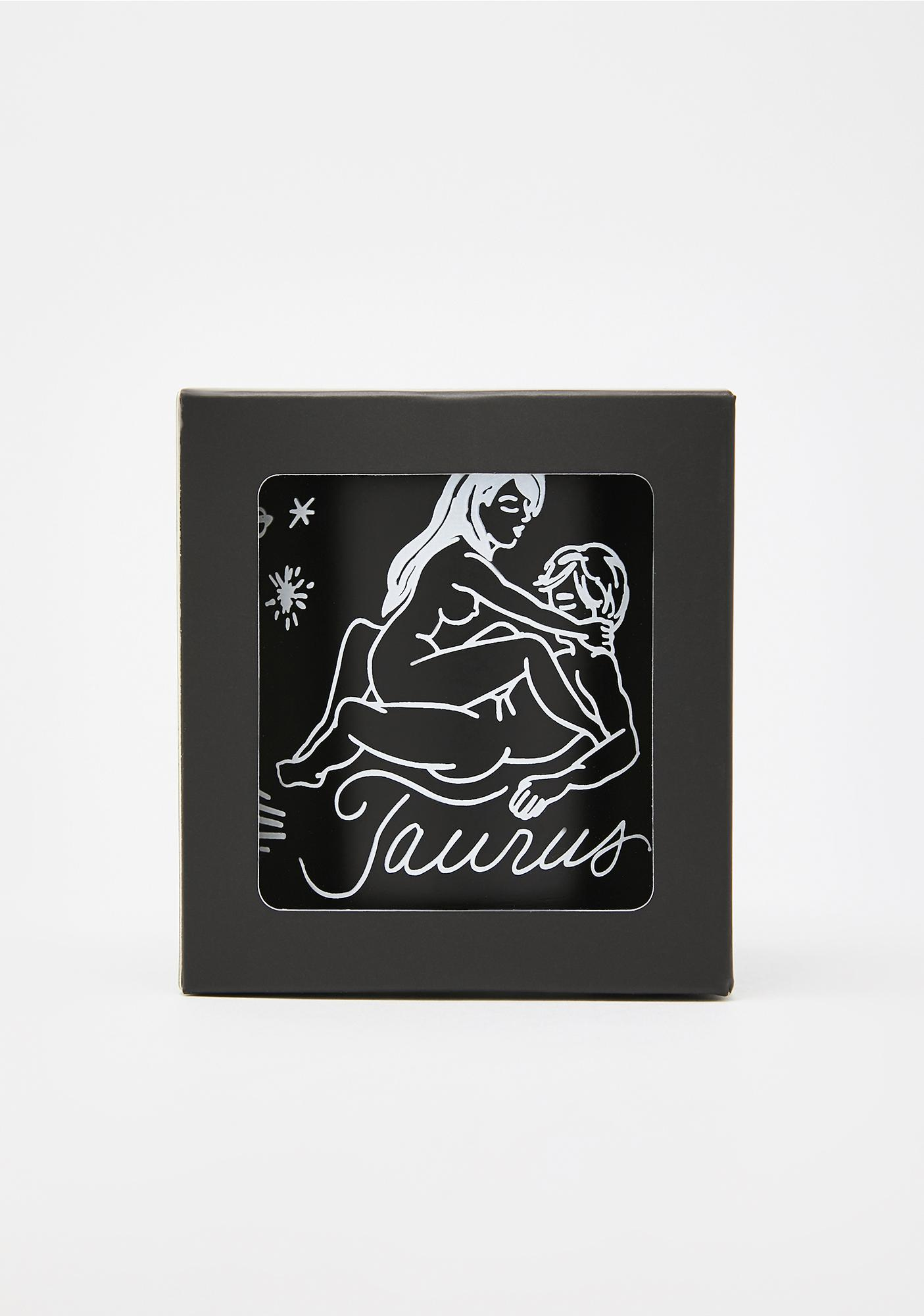 Black Cake Taurus Zodiac Massage Candle