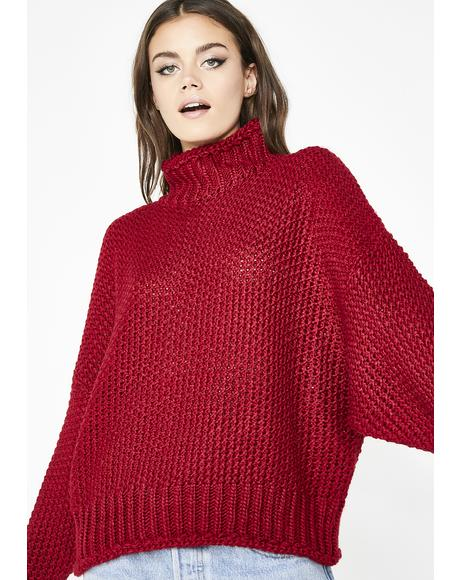 Baby Darling Turtleneck Sweater