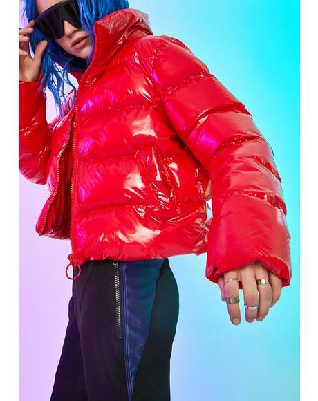 Hellbent Heart Puffer Jacket