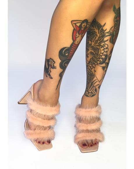 Cachita Marabou Heels
