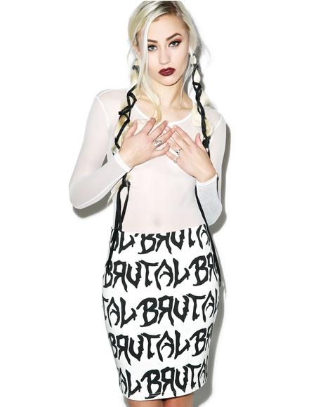 Tough Love Tube Skirt