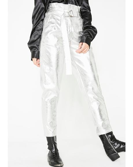 Galactic Groove Metallic Pants