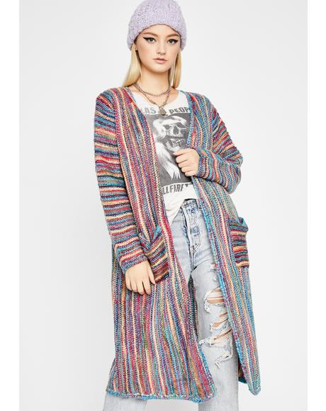 Hippie Trips Long Cardigan