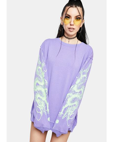 Dragon Crewneck Sweatshirt