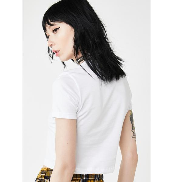 Always Again Sweet As Honey Crop Tee