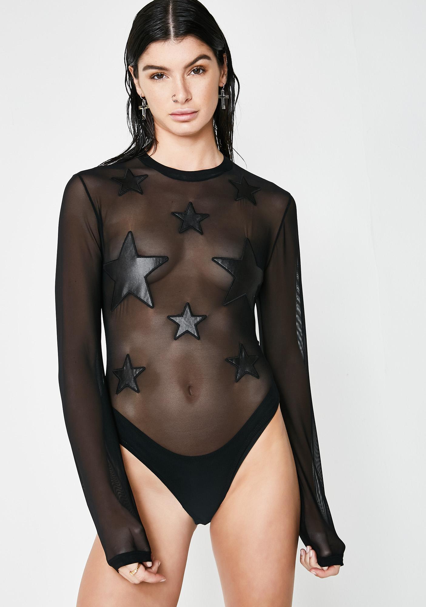 Kiki Riki Starry Nights Mesh Bodysuit