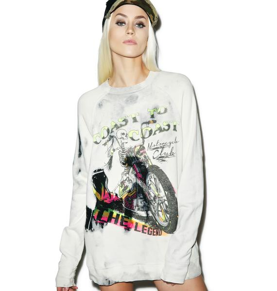Lauren Moshi The Legend Pullover Sweatshirt