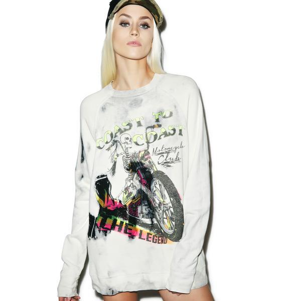 Lauren Moshi The Legend Pullover Sweatshirt
