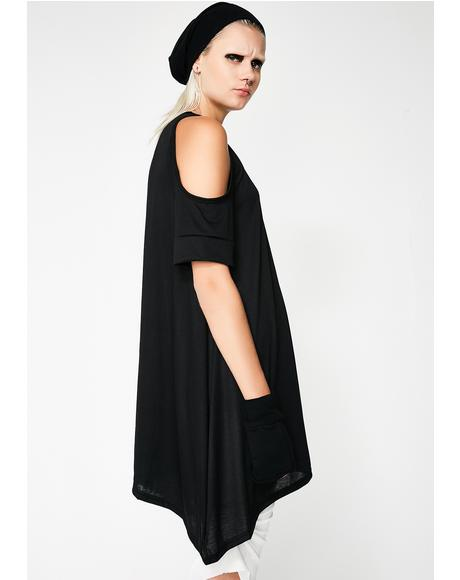 Maia Cold Shoulder Tunic