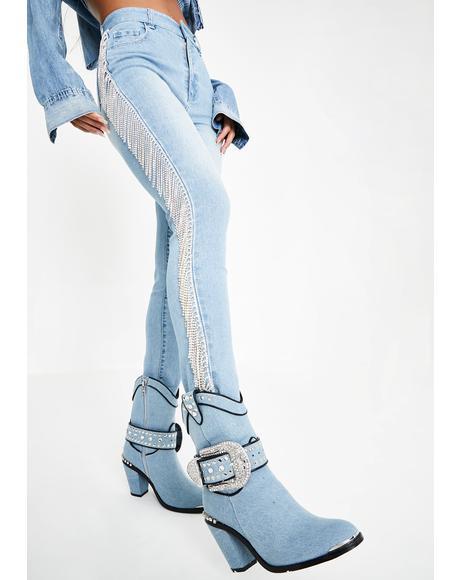 Rouge Rager Fringe Jeans