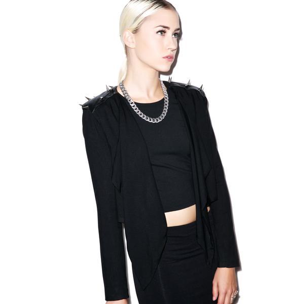 Widow Going Gaga Spiked Jacket
