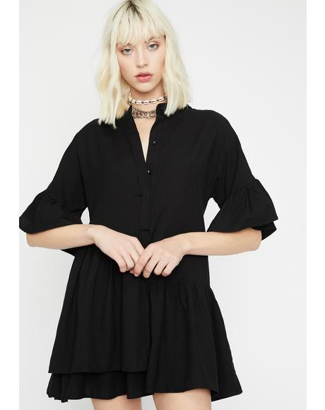 Romantic Antics Shirt Dress