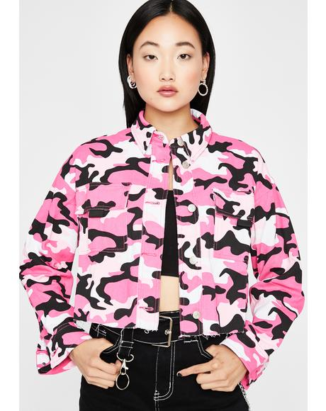 War Paint Camo Jacket