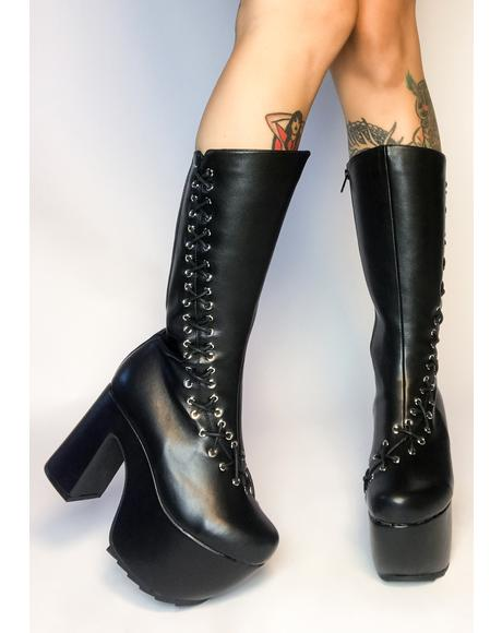 New Heights Lace Up Boots