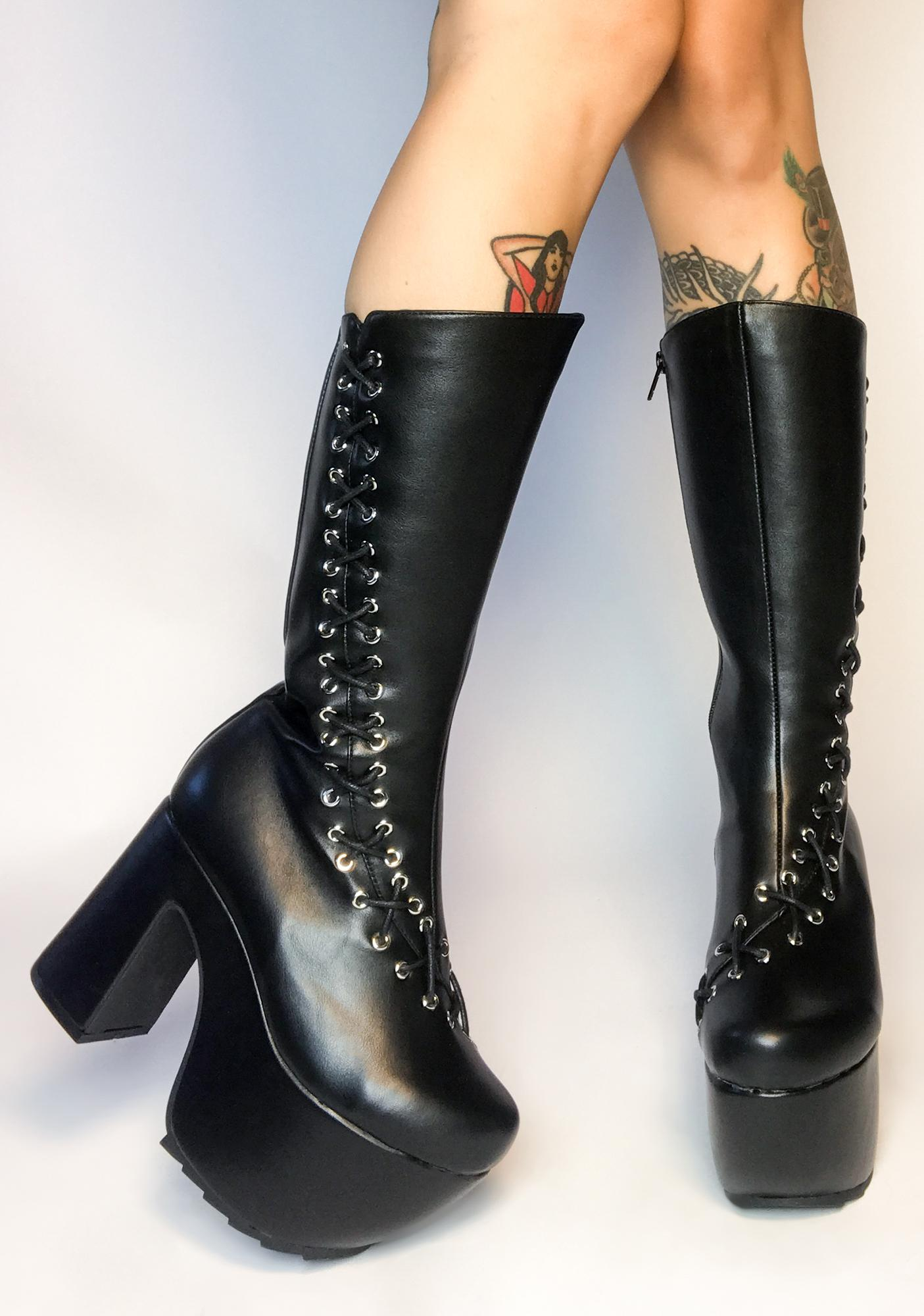 Lamoda New Heights Lace Up Boots