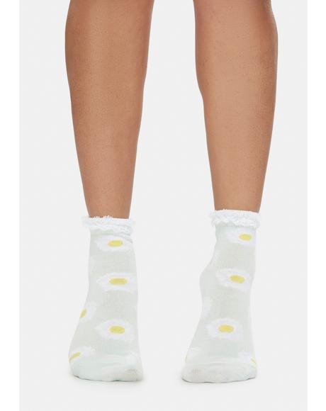 Pure Daisy Fields Socks