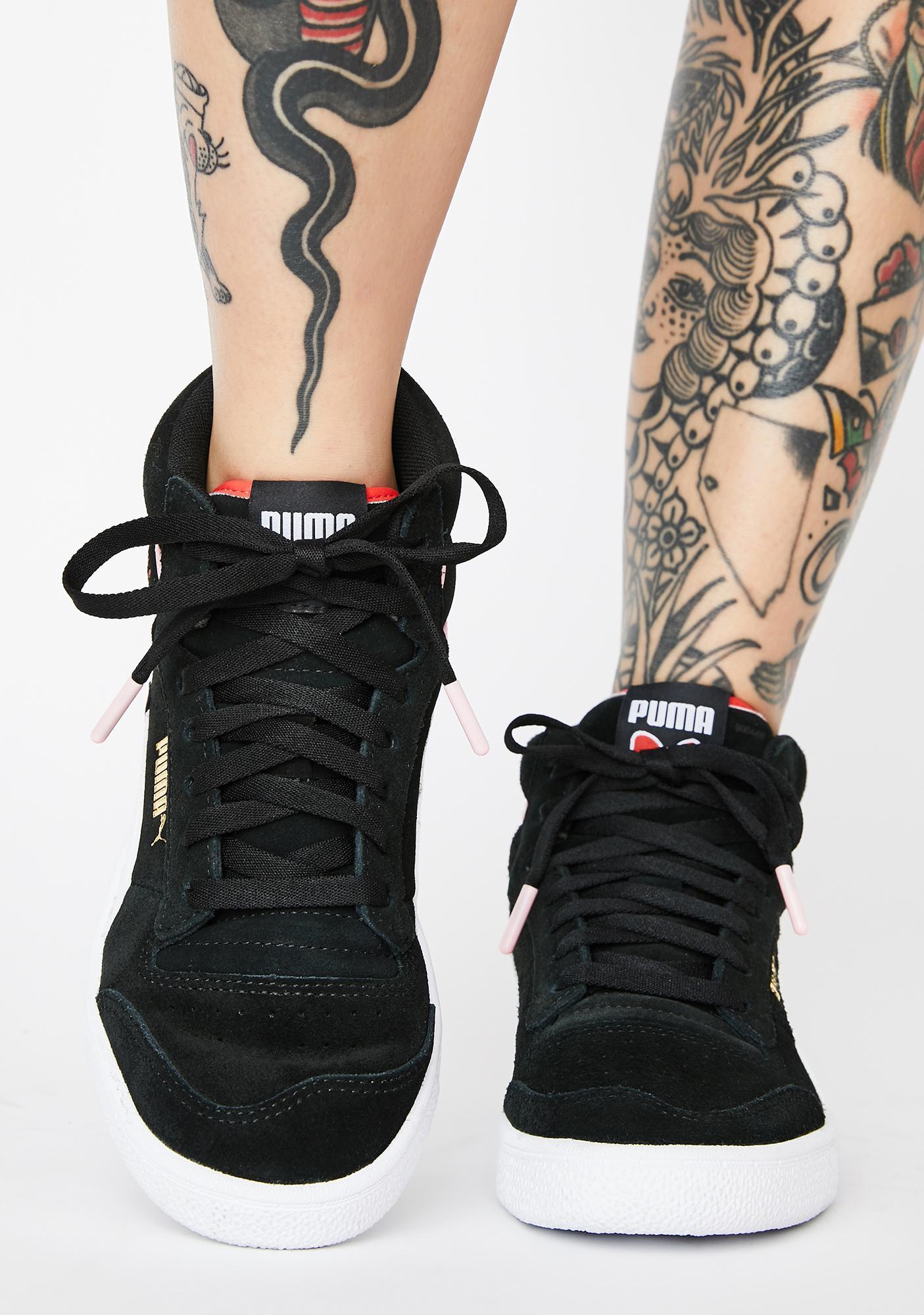 PUMA X Hello Kitty Ralph Sampson Mid Sneakers