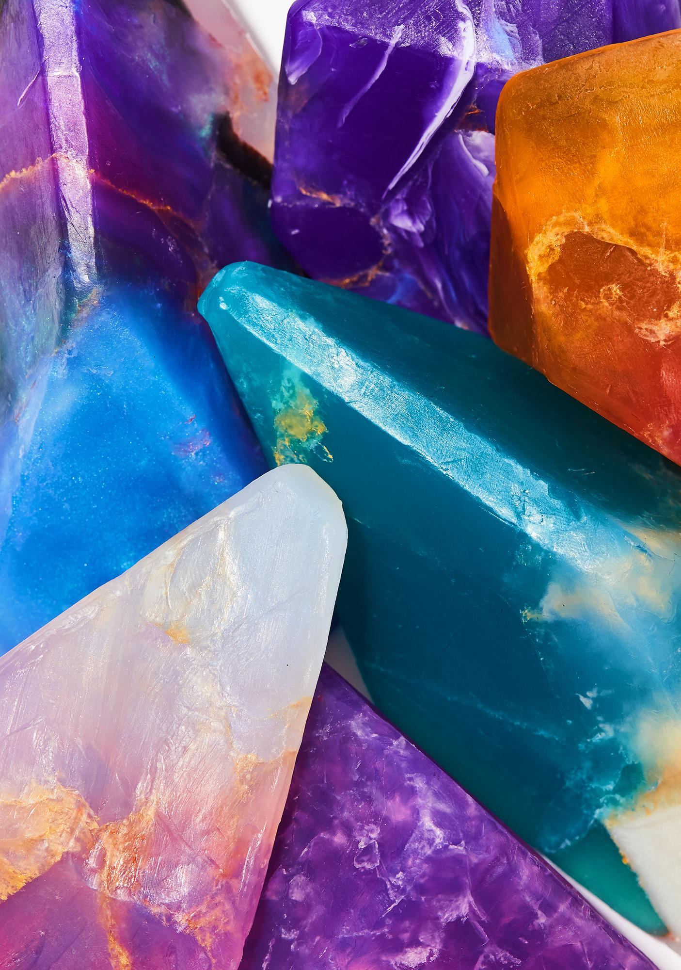 Astral Azurite Crystal Soap
