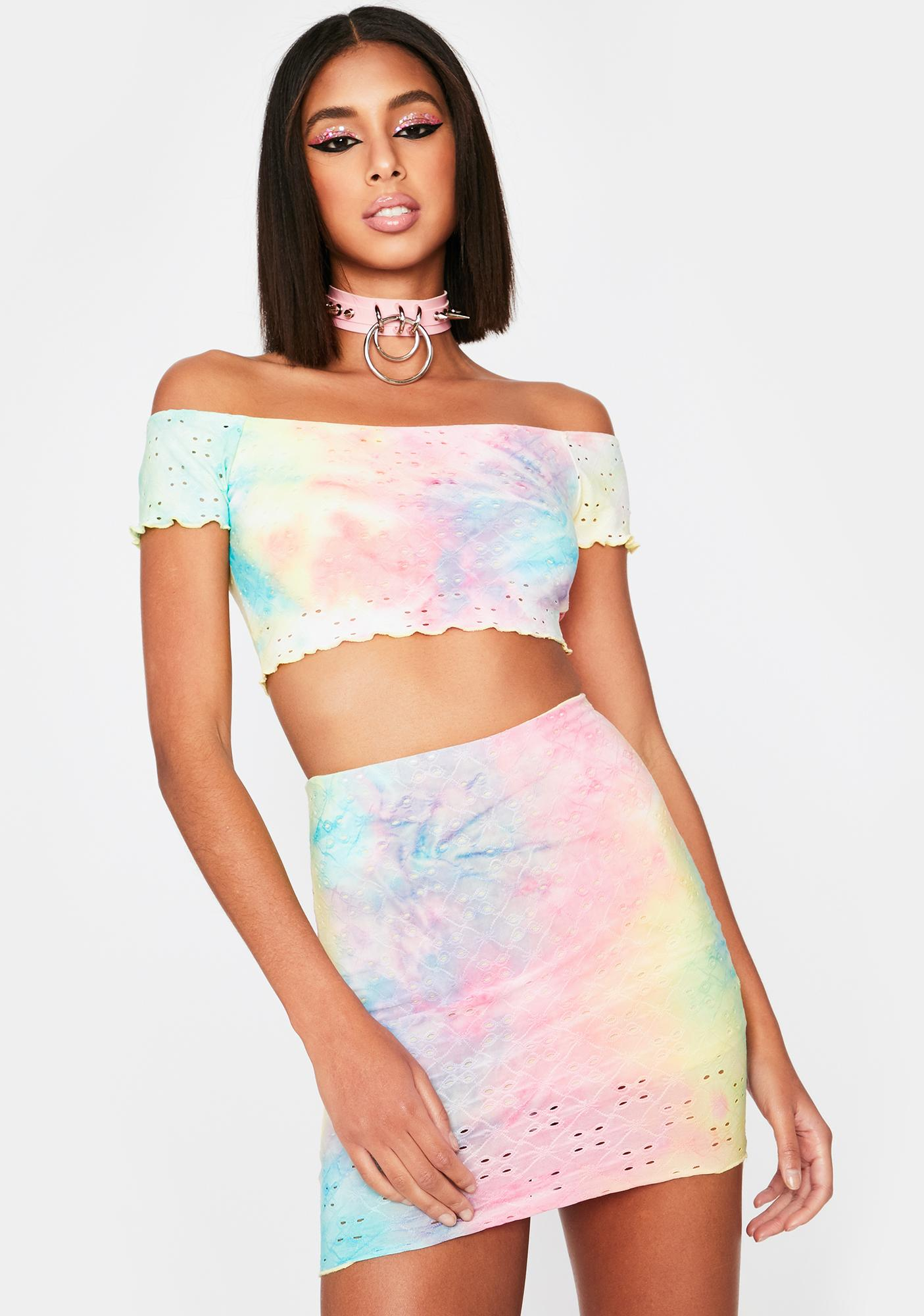 Groovy Glamour Tie Dye Set