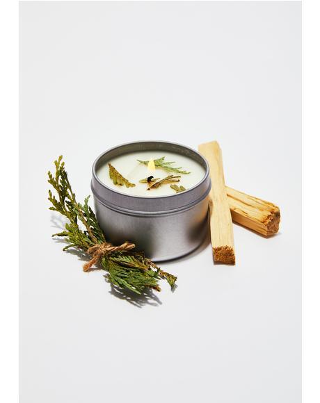 Palo Santo & Cedar Ritual Candle