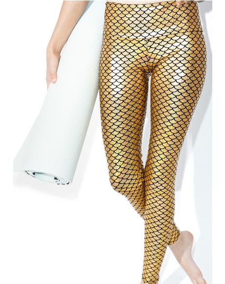 Mermaid Hologram Leggings
