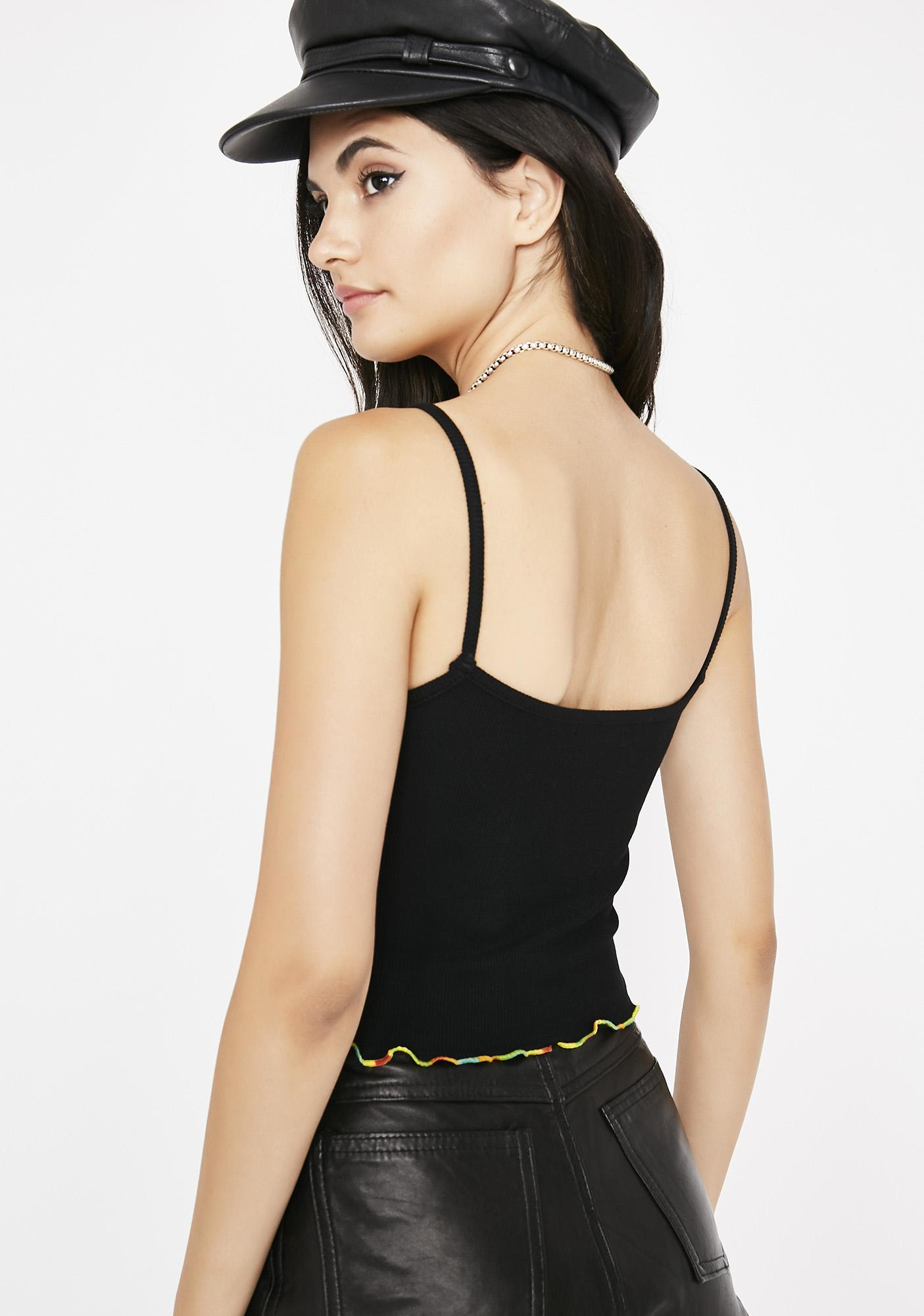Dark Color The Town Tank Top